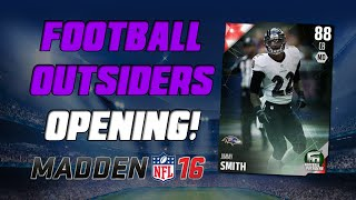 Jimmy Smith Is A Beast! | Madden 16 Ultimate Team - Football Outsiders Pack Opening