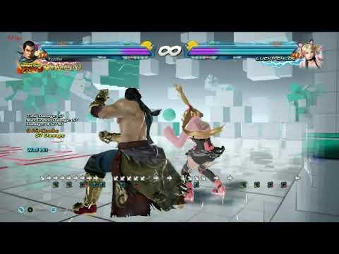 Tekken 7   Feng Low Wall Splat Stuff After A Long Juggle