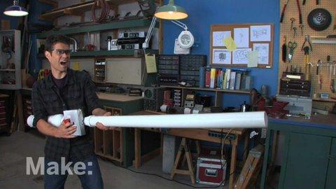 Maker Workshop - Burrito Blaster On MAKE: Television