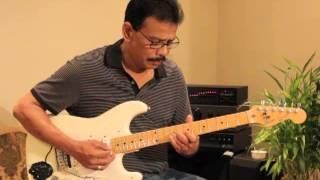 Sundari Kannaal Oru Saethi Song  From Thalapathi Guitar Instrumental BY Nada Jeyadevan