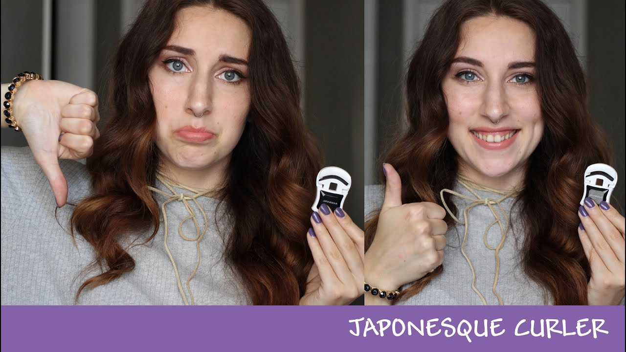 Japonesque Eye Lash Curler Review And Demo Beautyshell Youtube