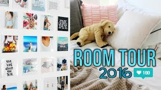 My REAL Room Tour 2016! | Reese Regan