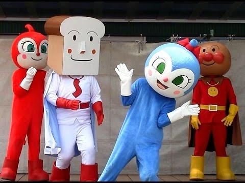 アンパンマンショー【みんな大好き!コキンちゃん】 ドキンちゃんのダンスが面白い! ブレなし高画質 Anpanman kidsshow