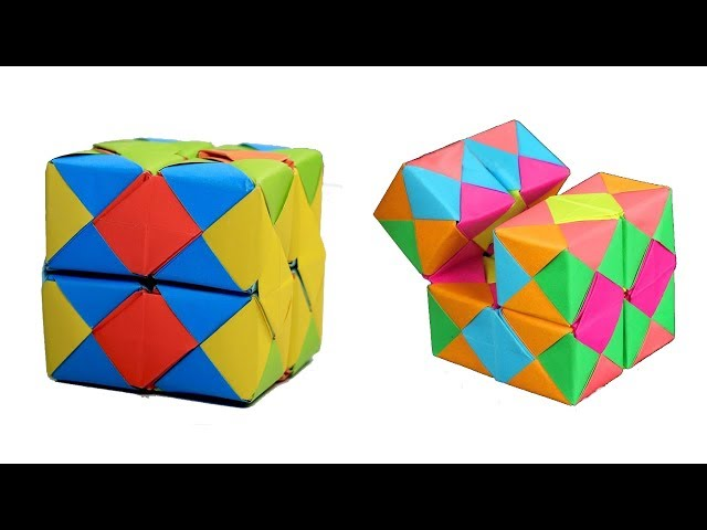 How To Make Origami Infinity Cube | Origami My Style