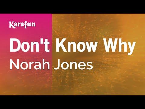 Karaoke Don't Know Why - Norah Jones *