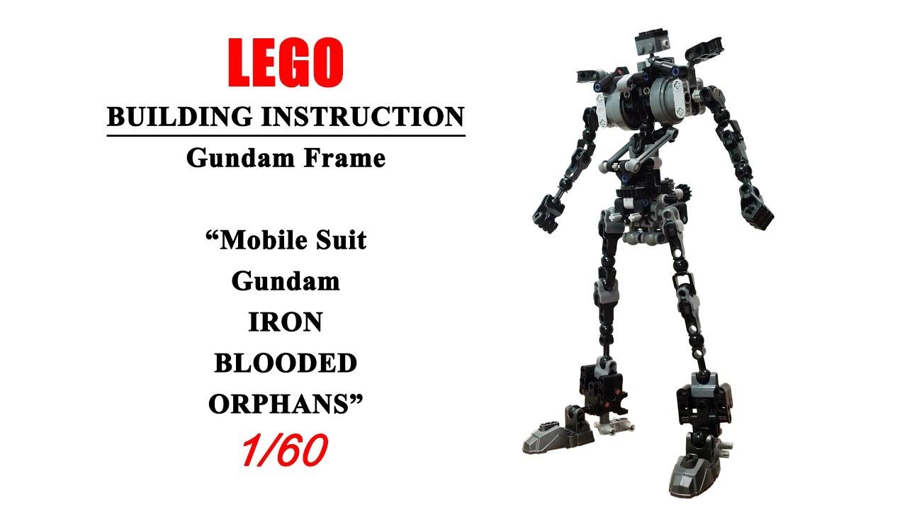 [ BUILDING INSTRUCTION ] LEGO Gundam Frame 1/60 ( Mobile