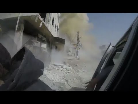 Rescuers in Syria's Eastern Ghouta Under Fire