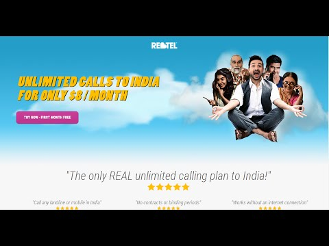 Phone Card Unlimited Cheap Month Phone India On Any Phone First Week Free