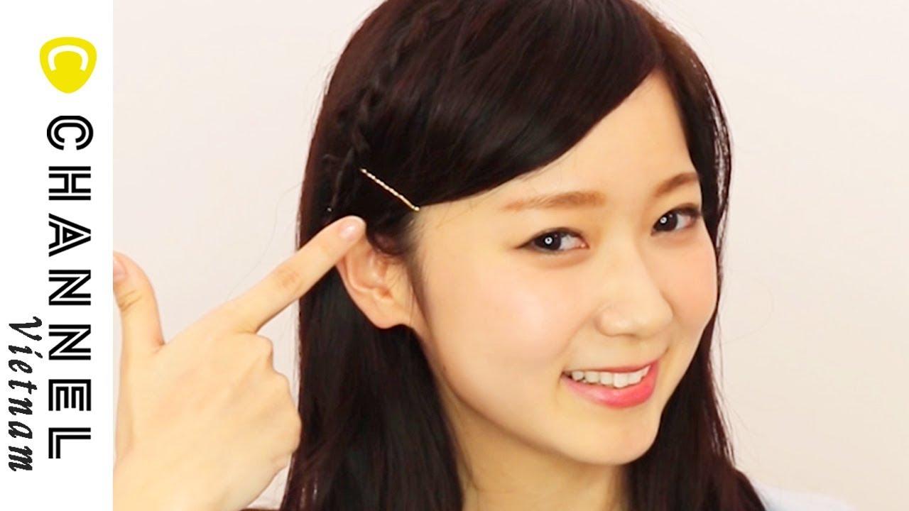 Mẹo chữa cháy khi cắt tóc mái quá ngắn