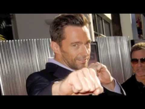 """""""knocked out"""" by Hugh Jackman"""