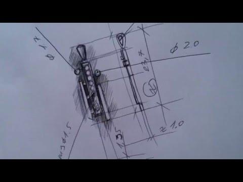 Jewelry sketch for 3D modeling /// Рисуем эскиз кулона для моделирования в 3d