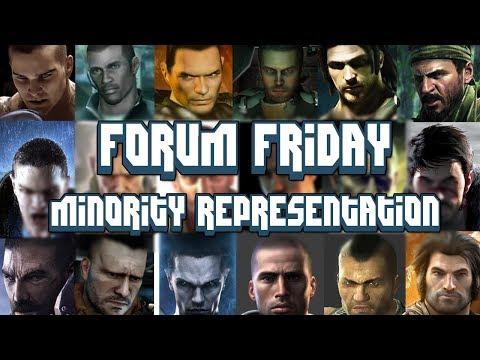 Forum Friday S2E3 - Minority Representation in Games
