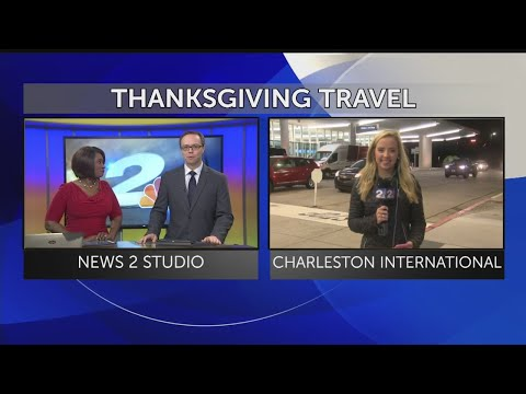 6 a.m. Live - Laura Smith reports on Thanksgiving travel