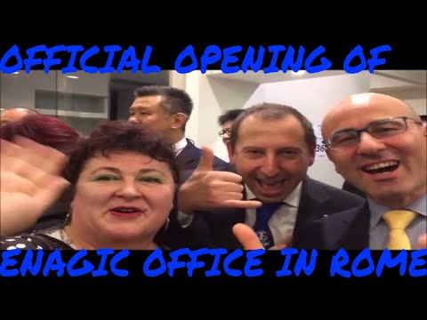 Kangen Water Official Office Opening in Rome, Italy