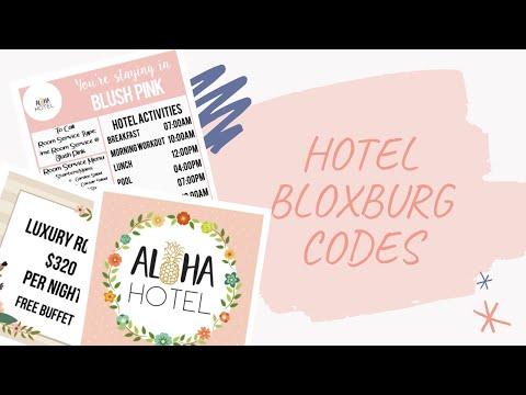 Hotel Bloxburg Codes Electriic Mars Youtube