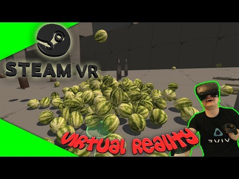 SteamVR Home - Garry's Mod in VR? [Let's Play][Gameplay][German][HTC Vive][Virtual Reality]