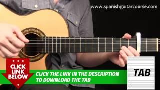 NEW [2015] Spanish Guitar Lesson - Soleá #1