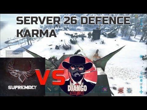 DEFENDING SERVER 26 KARMA VS DJANGO