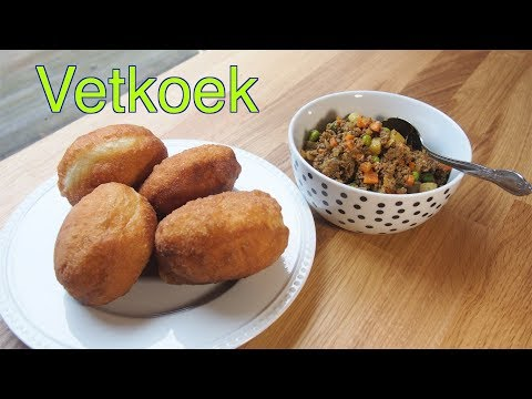 Vetkoek (South African Fried Buns)