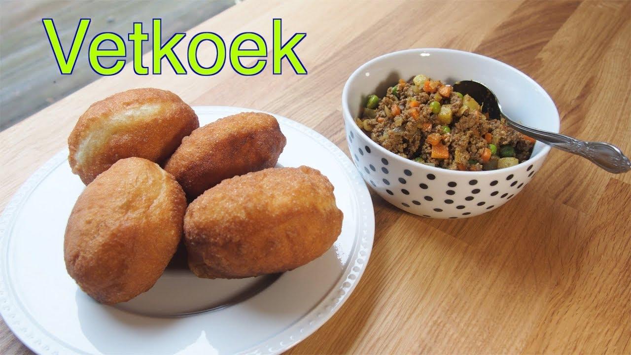 Vetkoek (South African fried buns)