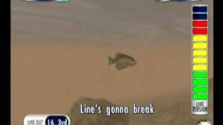 Sega Bass Fishing 2 (Dreamcast) - Freeplay Mode, pt. 2 of 2 (8/1/09) (Steven)