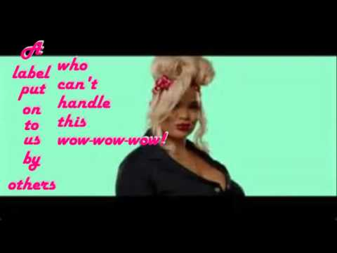 fat chicks By Trisha Paytas lyric video