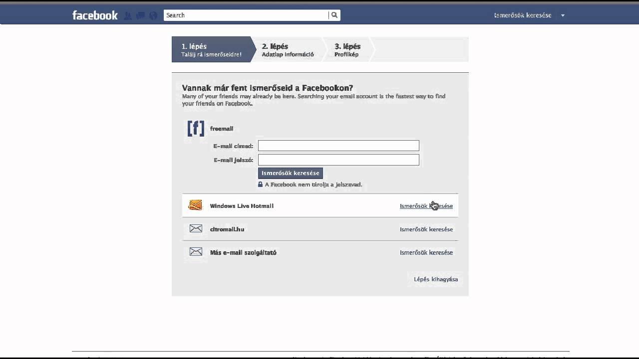 Facebook Hu Bejelentkezés Magyarul