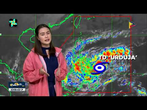 PTV INFO WEATHER: Bagyon #UrdujaPH, patuloy na binabantayan; Tropical cyclone Signals, itinaas na