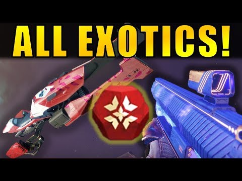 Destiny 2: ALL NEW EXOTICS from Crimson Days 2018!