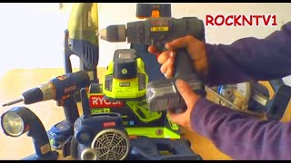 Ryobi One+ 18V Li-ion Battery and charger upgrade