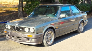1989 BMW E30 325i M-Technic (Canada Import) Japan Auction Purchase Review