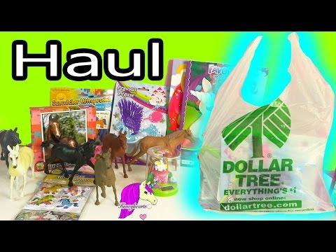Horse Dollar Tree Haul Video - Unicorn Coloring Books, Pegasus and Horses Toys