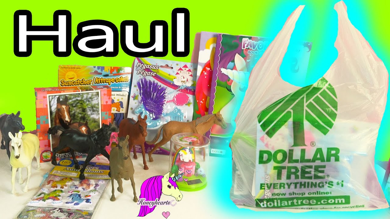 Horse Dollar Tree Haul Video - Unicorn Coloring Books, Pegasus and ...