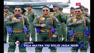 TNI AU Anugerahkan Wing Kehormatan untuk KASAD dan KASAL- iNews Sore 06/04