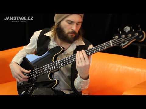 Fender Deluxe Aerodyne Jazz Bass (Jaryn Janek)