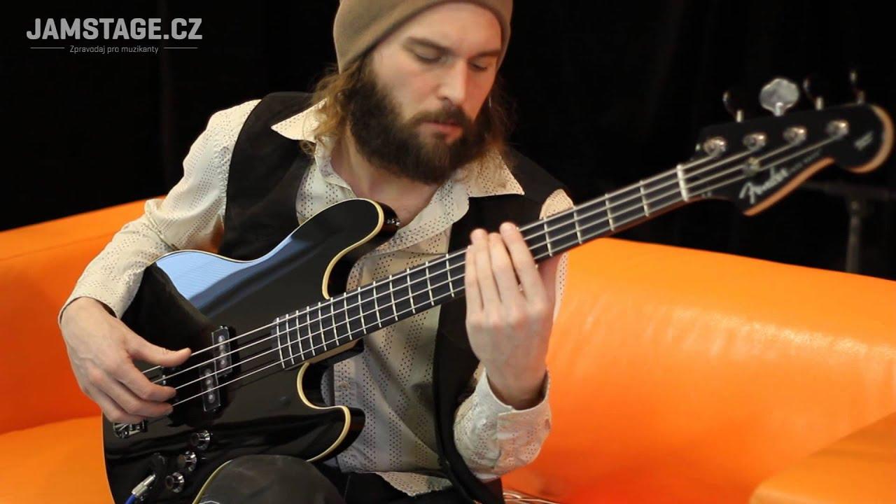 Fender Deluxe Aerodyne Jazz Bass Jaryn Janek