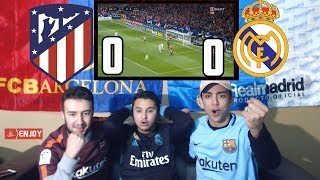 BARÇA 10 POINTS AHEAD OF RIVAL REAL MADRID 0-0 - LIVE REACTION