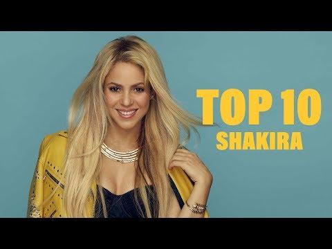 TOP 10 Songs - Shakira