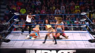 Taryn Terrell and Mickie James vs. Tara and Gail Kim - May 2, 2013