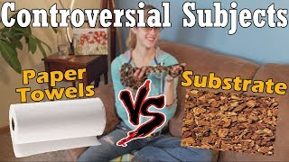 Con-Sub: Paper Towels vs Substrate