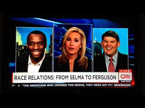 "Humor is good! Mark asking CNN news anchor Poppy Harlow"" is it because I"