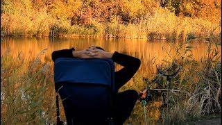 Вечерняя рыбалка осенью на FLAT METHOD,ФИДЕР УЛЕТЕЛ В ВОДУ.Тест прикормки