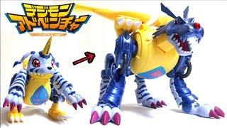 【デジモンアドベンチャー】超進化魂 02 メタルガルルモン ヲタファのじっくり変形レビュー / Digimon Digivolving Spirits 02 Metalgarurumon