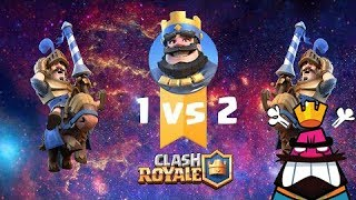 World No 1 vs World No 2  Epic Battle Socking!   Clash Royale