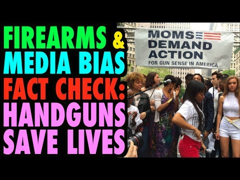 Fact Check: Guns Save Lives (Media Bias & Guns)