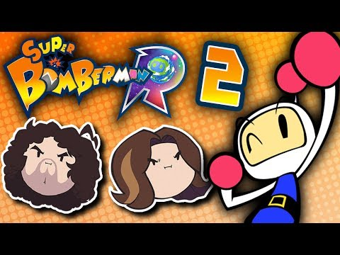 Super Bomberman R: Drawing It Out to the Draw - PART 2 - Game Grumps VS