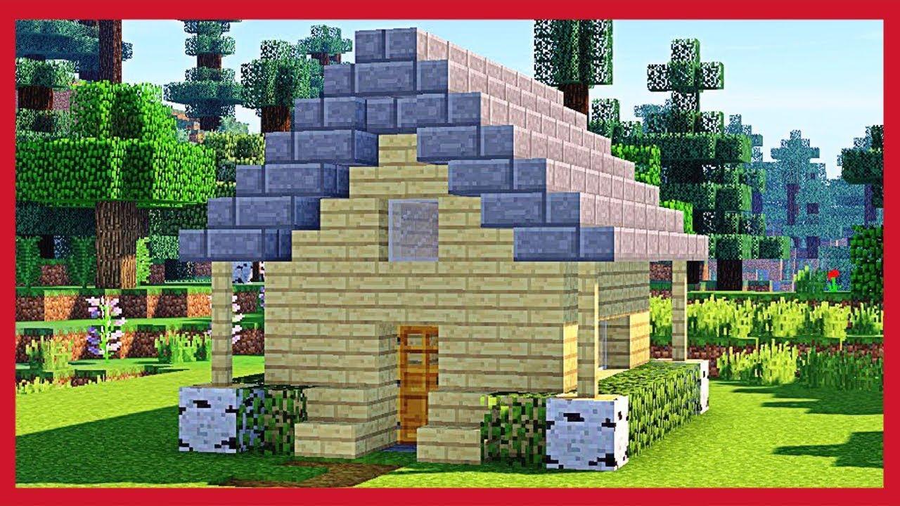 Minecraft come fare una piccola casa in legno youtube - Fare una casa in legno ...