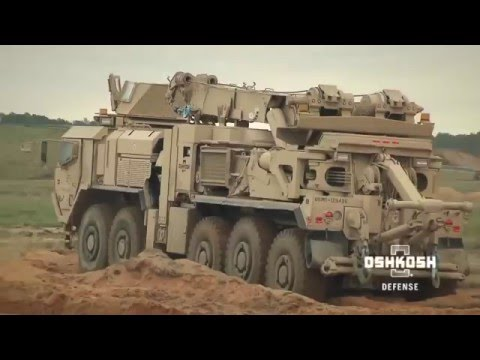 Oshkosh MMRS Heavy Recovery Vehicle