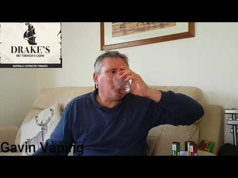 My thoughts on two delightful net tobacco eliquid flavours from Drakes BURLEY & FLUE CURED VIRGINIA