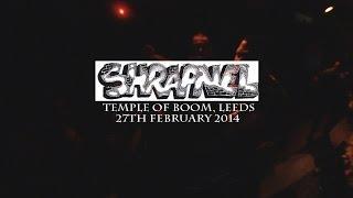 SHRAPNEL (FULL SET) - Temple Of Boom, Leeds